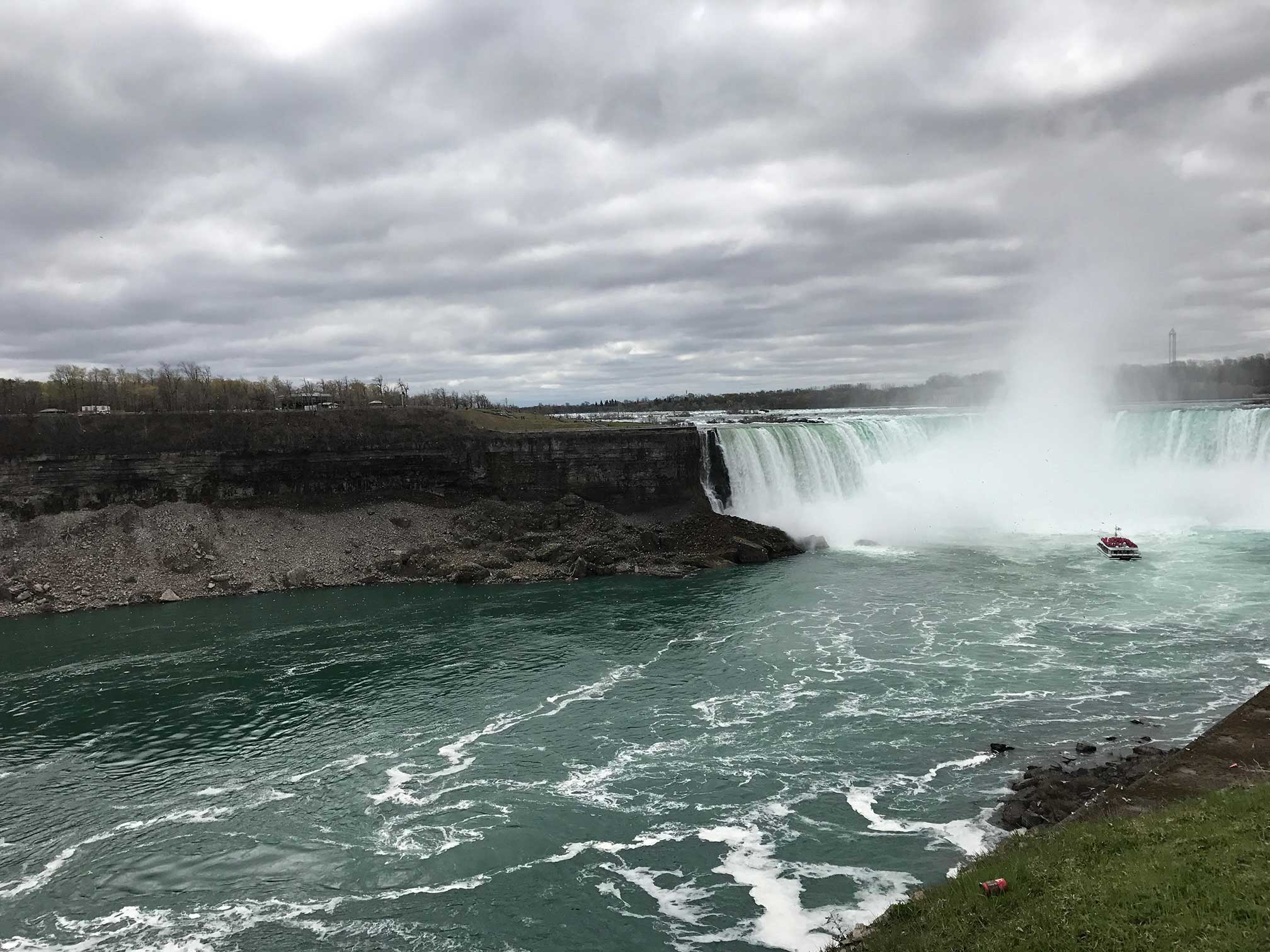 A view of Niagara Falls, ON, Canada